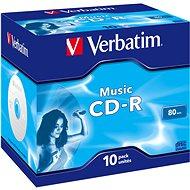 VERBATIM CD-R 80 MUSIC BOX - 10 Stück