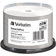 VERBATIM CD-R DLP 80min 52x WIDE Profesional Printable - 50 Stück