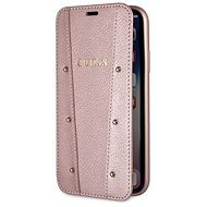 Guess Kaia Book Case Rose Gold für iPhone XS Max - Handyhülle
