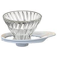 Hario V60-01 Kaffeetropfer aus Glas - Dripper