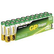 GP Super Alkaline LR6 (AA) 20 Stück im Blister - Einwegbatterie