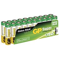 GP Super Alkaline LR03 (AAA) 20 pc Blister - Einwegbatterie