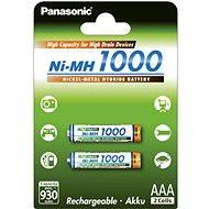 Panasonic NiMH AAA 930mAh 2 Stück - Ladebatterie