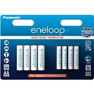 Panasonic eneloop HR6 1900mAh + HR03 750mAh 8BP - Akku