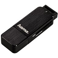 Hama USB 3.0 Kartenleser schwarz - Kartenleser