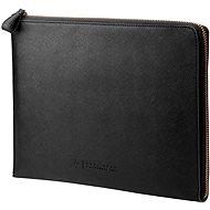 "HP Spectre Black Leather Sleeve (Zipper) 13,3"" - Laptophülle"