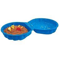 BIG Sand-/Wassermuschel - blau - Sandkasten