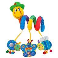GALT Wurm Pepik über die Krippe - Kinderbett-Spielzeug