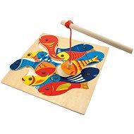 Geschicklichkeitsspiel Woody Angelspiel - Didaktisches Spielzeug
