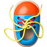 Woody Schuh mit Schuhbändern