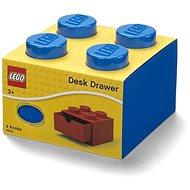 LEGO Tischbox 4 mit Schubladen blau - Aufbewahrungsbox