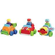 Toomies Drücke den Rennwagen und fahre - Spielzeug für die Kleinsten