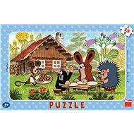 Der kleine Maulwurf zu Besuch - Puzzle