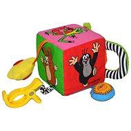 Textilwürfel für den Kleinsten - Maulwurf - Didaktisches Spielzeug