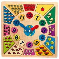 Lernpuzzle - Lerne die Uhr