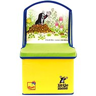 Dekoration Bino kleiner Maulwurf - Stuhl/ Schachtel Set - Deko fürs Kinderzimmer