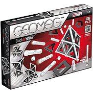 Geomag - Panels schwarz / weiß 68 Stück - Magnetischer Baukasten