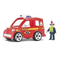 IGRACEK Multigo - Feuerwehrauto mit Feuerwehrmann - Spielset