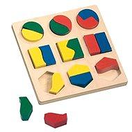 Bino Puzzle - Geometrische Formen - Puzzle