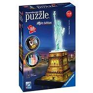 Ravensburger 3D 125968 Freiheitsstatue (Nachtausgabe) - 3D Puzzle