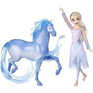 Gefrorene 2 Elsa Puppe mit einem magischen Pferd - Figur