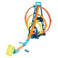 Hot Wheels Track Builder - Triple Loop Kit - Zubehör für Eisenbahnen