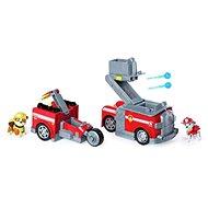 Paw Patrol Zwei Rettungsfahrzeuge in einem Marshall - Spielset