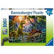 Ravensburger 128884 Im Reich der Dinosaurier 100 Stück - Puzzle