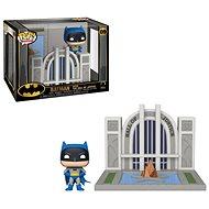 Funko POP DC Towns: Batman 80th - Hall of Justice w/Batman - Figur