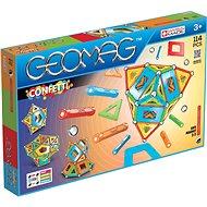 Geomag Confetti 114 - Magnetischer Baukasten