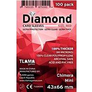 Diamond Red Kartenetuis: Chimera Mini (43x66 mm) - Zubehör für Kartenspiele