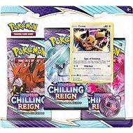 Pokémon TCG: SWSH06 Chilling Reign- 3 Blister Booster - Kartenspiel