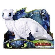 Drachen 3 großer Plüsch Delux - White Drachen (Lightfury) - Plüschtier