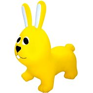 Jumpy gelbes Kaninchen - Hüpfball/Hüpfstange