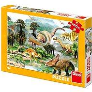 Dino Leben der Dinosaurier - Puzzle
