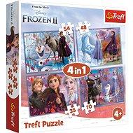 Puzzle 4in1 Die Eiskönigin II - Puzzle