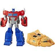 Transformers Cyberverse Figur Optimus Prime mit Zubehör - Figur