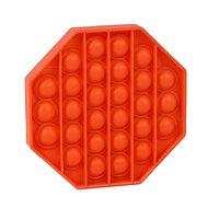 Pop it - Achteck orange - Gesellschaftsspiel