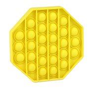 Pop it - Achteck gelb - Gesellschaftsspiel