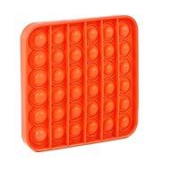 Pop it - Quadrat orange - Gesellschaftsspiel