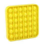 Pop it - Quadrat gelb - Gesellschaftsspiel