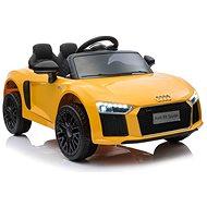 Audi R8 klein, gelb - Elektroauto für Kinder