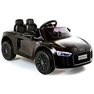 Audi R8 klein, schwarz - Elektroauto für Kinder