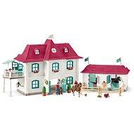 Schleich Horse Club: 42416 Großer Pferdehof mit Wohnhaus und Stall - Figuren-Zubehör