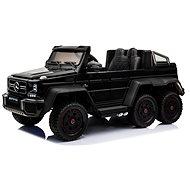 Mercedes-Benz G63 6X6, schwarz lackiert - Elektroauto für Kinder