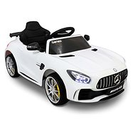 Mercedes-Benz GTR weiß - Elektroauto für Kinder