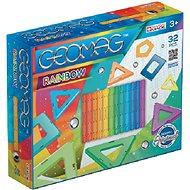 Geomag Rainbow 32 - Magnetischer Baukasten