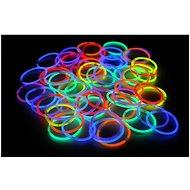 Leuchtende Armbänder 100 Stück, Farbmix - Spielset