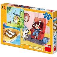 Dino Meine Märchen 3x55 Teile - Puzzle
