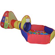 Zelt mit Tunnel und Bällen - Spielzelt